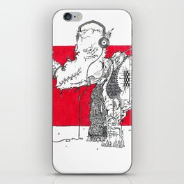 Red Rhino iPhone Skin