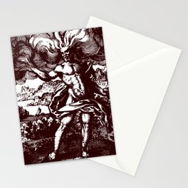 The North Wind Carried Him Stationery Cards