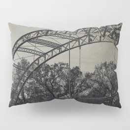 Rustic Steel Bridge Architectural Industrial A173 Pillow Sham