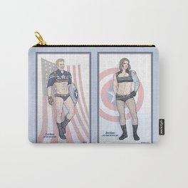 Steve Rogers and Bucky Barnes Calendar Boys Carry-All Pouch