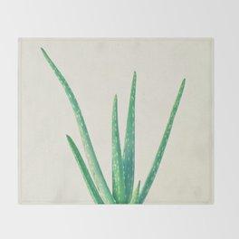 Aloe Vera Throw Blanket