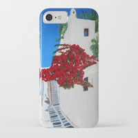 greece iPhone & iPod Cases featuring Greece by maggs326