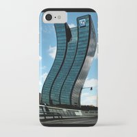 buildings iPhone & iPod Cases featuring Buildings by Kathleen Stephens