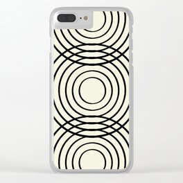 life balance Clear iPhone Case