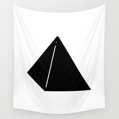 Shapes Pyramid Wall Tapestry