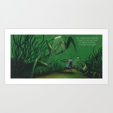 POEM OF INSECTS Art Print