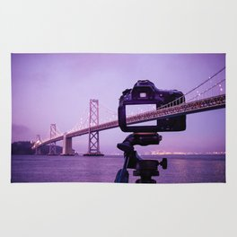 Bay Bridge Capture Rug