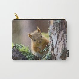 Baby Red Squirrel  Carry-All Pouch