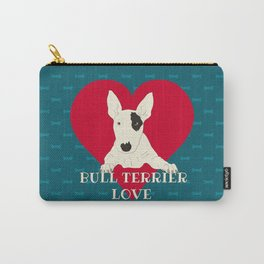 Bull Terrier Love Carry-All Pouch