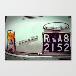 to rome with love Canvas Print