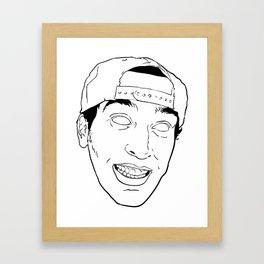 WXMG Framed Art Print