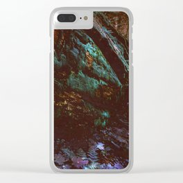 Forest Wall Dark Fairy Landscape Clear iPhone Case