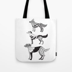 Andersen dogs Tote Bag