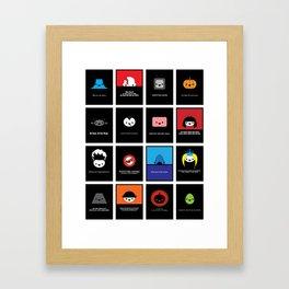 Cute Movie Posters Framed Art Print