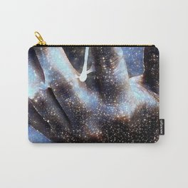 Life in the Palm of the Hand Carry-All Pouch