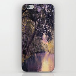 Sunset River iPhone Skin