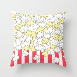 Buttered Popcorn Throw Pillow