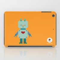 robot iPad Cases featuring Robot by Milanesa