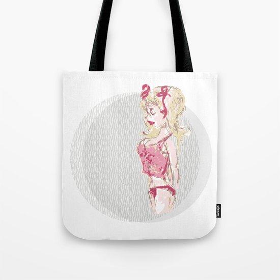 Blondy Girl Tote Bag
