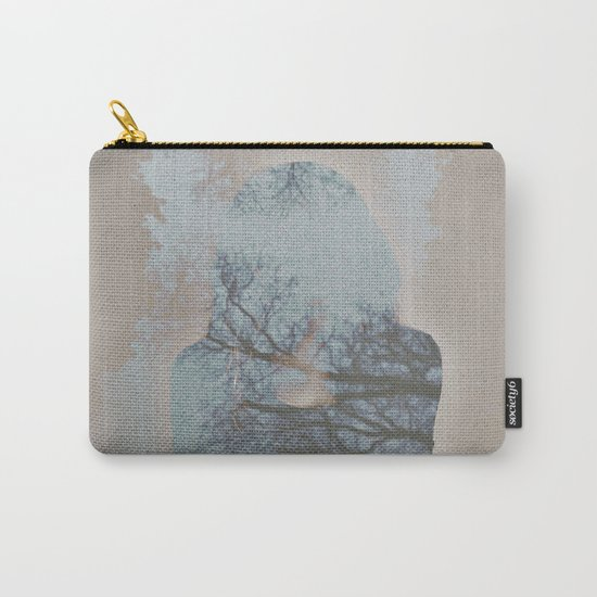 A Ghost in the Trees Carry-All Pouch
