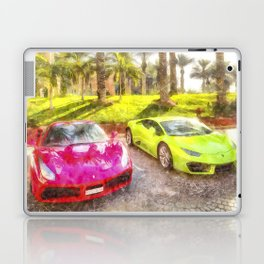 Dubai Super Cars Art Laptop & iPad Skin