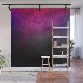 Abstract violett pattern Wall Mural