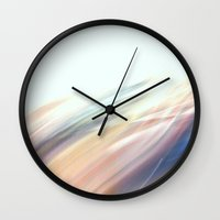 the strokes Wall Clocks featuring Strokes by Argi Univrs