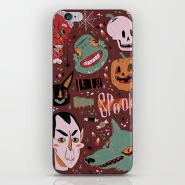 Let's Get Spooky! iPhone Skin