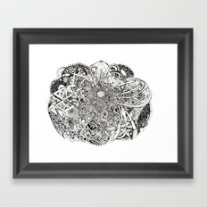 Inwards Framed Art Print