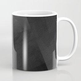 Black and Grey - Digital Geometric Texture Coffee Mug