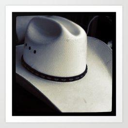Cowboy Hat Art Print