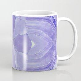 Jade Agate Stone Flower Violet Coffee Mug