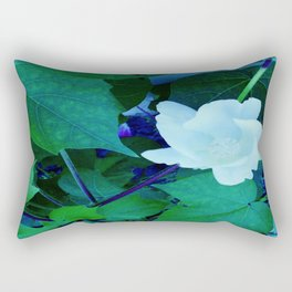 Cotton Blossom Rectangular Pillow
