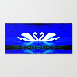 Heavenly Love Canvas Print