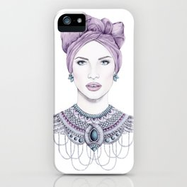 The Tribal Goddess iPhone Case