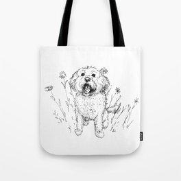 Cute Doggy Tote Bag