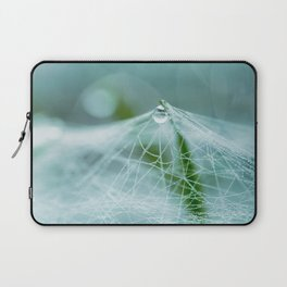 A large spider web on the ground Laptop Sleeve