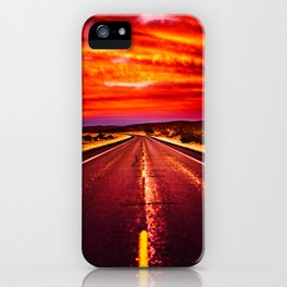 Desert Sunrise, Big Bend, Texas iPhone Case