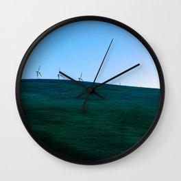 California Wind Mills Wall Clock
