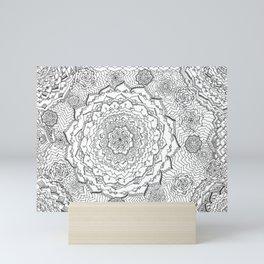 Chaos Mini Art Print