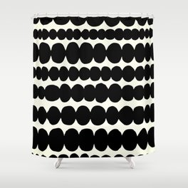 pebbles Shower Curtain