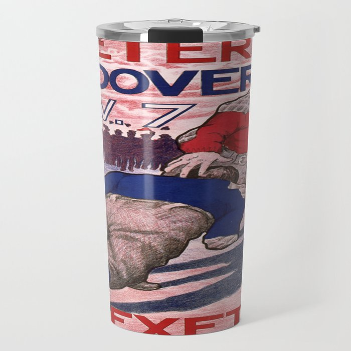 Vintage poster - Exeter vs. Andover College Football Travel Mug