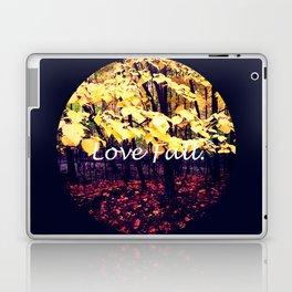 Under The Shade Of Yellow Laptop & iPad Skin
