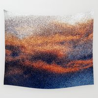 cosmic Wall Tapestries featuring COSMIC by KEEP OMAHA GOOD WEIRD