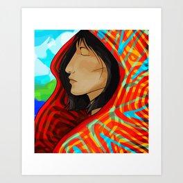 Kuna Brisa Art Print