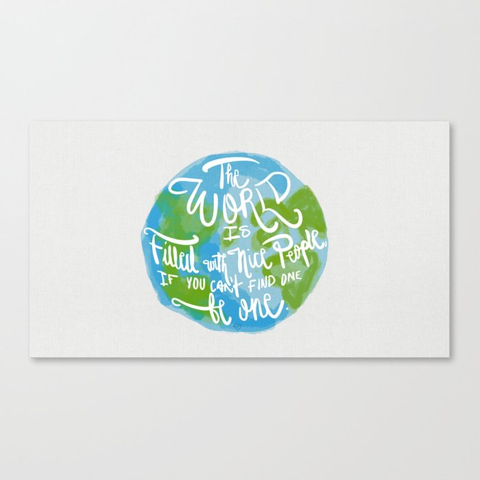 Be One Canvas Print