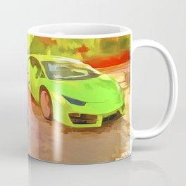 Dubai Super Cars Pop Art Coffee Mug