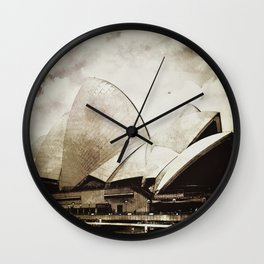 Sydney Opera House  Collection I Wall Clock