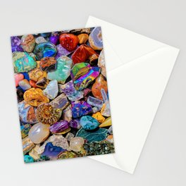 Rocks and Minerals, Geology Stationery Cards