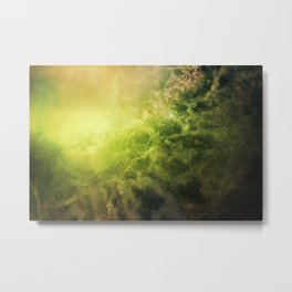 SUNRISE IN LOST SPACE Metal Print